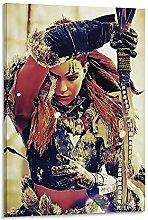 DJNGN Horizon Zero Dawn Canvas Art Poster and Wall