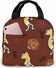 DJNGN Injun Playing Music Reusable Insulated Lunch