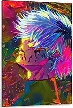 DJNGN Ken Kaneki Canvas Art Poster and Wall Art