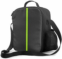 DJNGN Leakproof Lunch Bag Tote Bag,Bright Lime