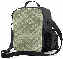 DJNGN Leakproof Lunch Bag Tote Bag,Paris Classic