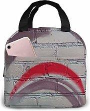 DJNGN Lunch Bag Dark Slate Gray Stars Tote Bag