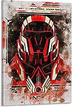DJNGN Mass Effect Canvas Art Poster and Wall Art