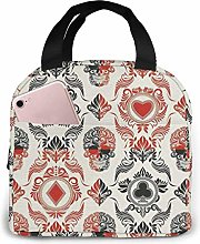 DJNGN Playing Card Themed Reusable Insulated Lunch