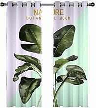 DJOIEPO Green Plants Curtain for Kids Nursery