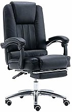 DJPP Chairs Big and Tall Reclining Leather Office