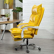 DJPP Chairs Computer Office Swivel Leather Desk