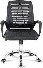 DJPP Chairs Desk Mesh with Arms Office Swivel