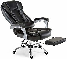 DJPP Chairs Ergonomic Swivel Pu Leather Padding