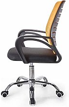 DJPP Chairs Mesh Office Mid Back Swivel Lumbar