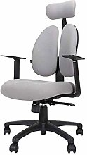 DJPP Chairs-S Desk with Wheels | Swivel with