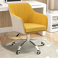 DJPP Chairs Swivel Computer Desk Ergonomic Linen