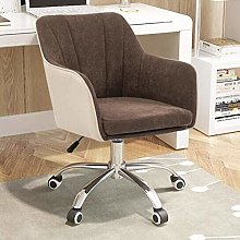 DJPP Chairs Swivel Computer Desk Ergonomic Linen