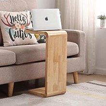 DJPP Desk,Sofa Side Table, U-Shaped C-Shaped Small