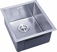 DJPP Kitchen Sink 1.2Mm Square Stainless Steel