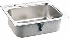 DJPP Kitchen Sinks Handmade Brushed Seamless 304