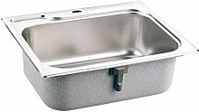 DJPP Kitchen Sinks Nickel Brushed Stainless Steel