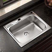 DJPP Kitchen Sinks Undermount Nano Sink Stainless