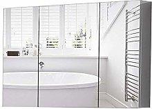 DJPP Mirror Niture Bathroom Wall Cabinet Stainless