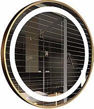 DJPP Mirror Smart Led Light Single Control Golden