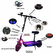 DJPP Scooters 3200W Dual Motor Powerful Two Wheel