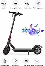 DJPP Scooters Adult Foldable 350W Motor Max Speed