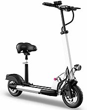 DJPP Scooters Easy to Carry with Folding 10Inch