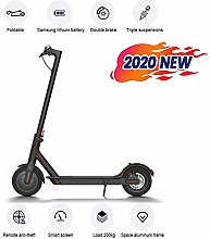 DJPP Scooters Electric Scooter Adult Foldable 500W
