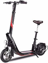 DJPP Scooters Electric Scooter, Foldable Electric