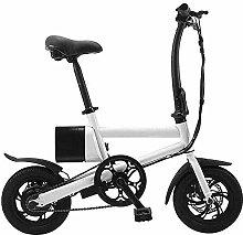 DJPP Scooters Folding Electric Bike,Adult