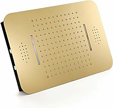 DJPP Water-Tap Bath Shower Systems Gold Led Music