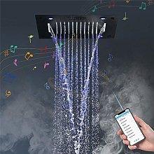 DJPP Water-Tap Bath Shower Systems Music Shower