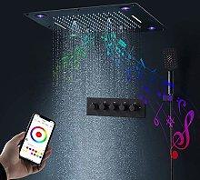 DJPP Water-Tap Bath Shower Systems Music Spa
