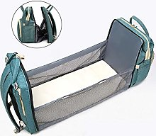 DJR Folding Portable Baby Crib, Mummy Backpack,