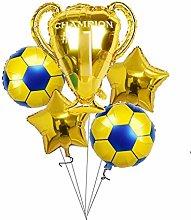 Djujiabh Balloons 1set gold champion prize Sport
