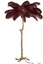 Djujiabh Floor lamp Ostrich Feather Floor Lamp