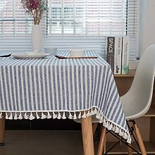 DJUX Check Vinyl Tablecloth Tablecloths White