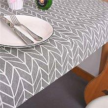 DJUX Cotton Tablecloth Orange Paper Tablecloth