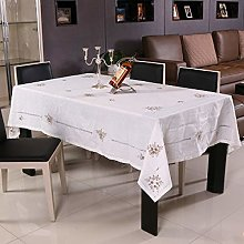DJUX Hand-embroidered Table Cloth Garden Wind