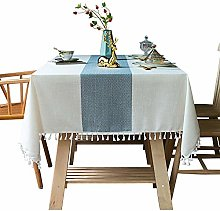 DJUX Home table cloth cover cloth cotton and linen