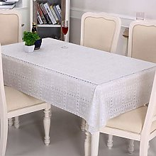 DJUX Pastoral Pvc Plastic Tablecloth Oil-proof