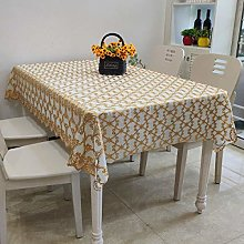 DJUX Small Fresh Table Cloth Pastoral Coffee Table