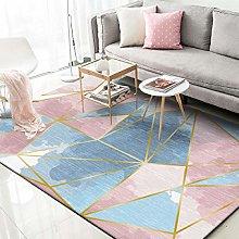 DJYTHLT Modern Rugs Living Room Rug Geometric