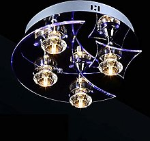 DKEE ceiling light Creative Personality Moon Star