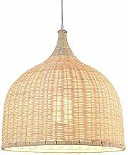 DKEE ceiling light Pastoral Hand Rattan Chandelier
