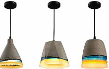 DKee ceiling light Retro Industrial Cement