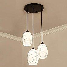 DKEE chandeliers Disk Modern Minimalist Restaurant