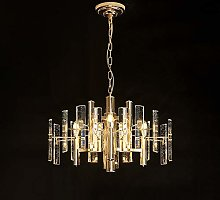 DKEE chandeliers Nordic Living Room Crystal Round