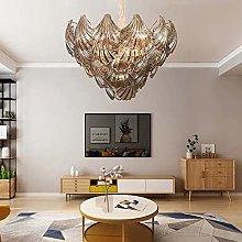 DKEE chandeliers Postmodern Gray Shell Chandelier