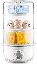 DKee Egg Boiler 3 Layer Mini Egg Boiler,